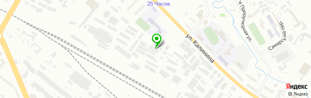 Автотехцентр Амикс — схема проезда на карте
