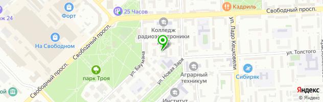 Рекламно-полиграфический центр Торос — схема проезда на карте