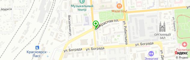 Satza — схема проезда на карте