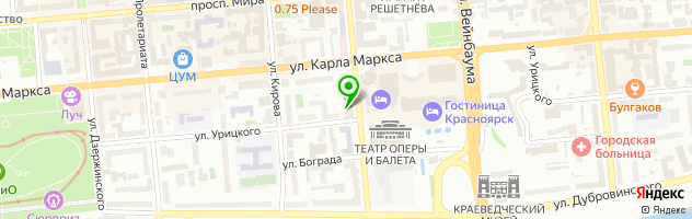 Ресторан Балкан Гриль — схема проезда на карте