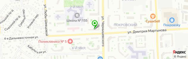 Клиника iNEO — схема проезда на карте