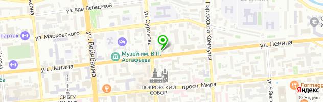 Учебный центр Кад рекрутинг — схема проезда на карте