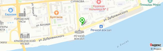 Ресторан 15`58 — схема проезда на карте