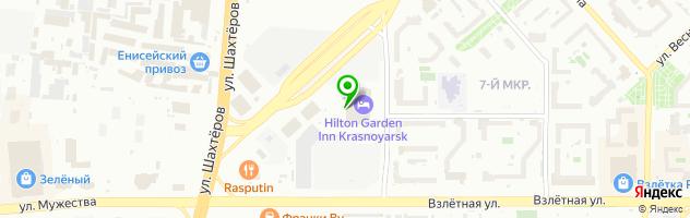 Развлекательный комплекс Шаровая молния — схема проезда на карте