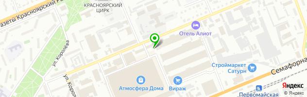 Ателье Шик Блеск Красота — схема проезда на карте