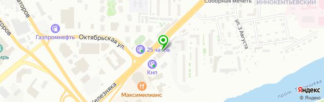 Автотехцент, Субару Центр Красноярск - официальный дилер Subaru — схема проезда на карте