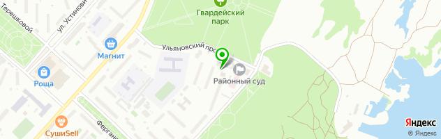 Наркологический центр Амбулаторный Центр Сперанского — схема проезда на карте