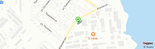 Автомоечный комплекс Автоград — схема проезда на карте