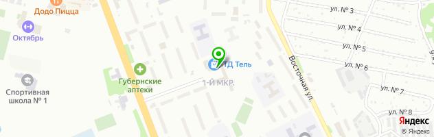 Авторизованный сервисный центр Высокие Технологии — схема проезда на карте