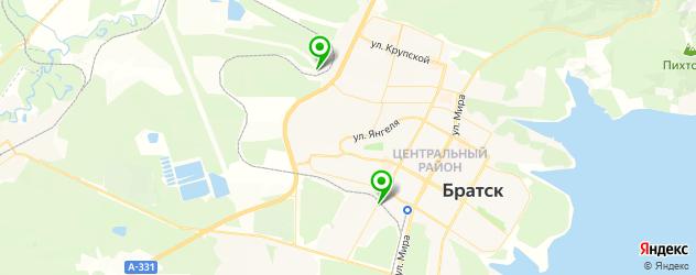 ремонт тнвд на карте Братска
