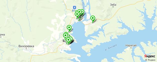 салаты на карте Братска