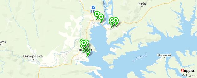 сауны с бассейном на карте Братска