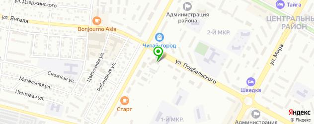 караоке-клубы на карте Братска