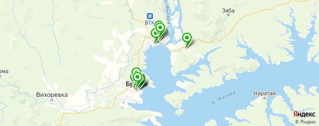кофейни на карте Братска