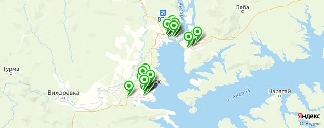 магазины автоаксессуаров на карте Братска