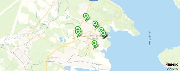 пекарни на карте Братска
