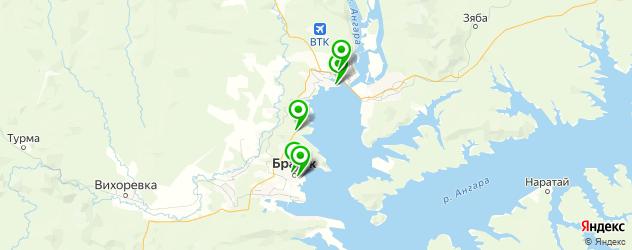 японские рестораны на карте Братска