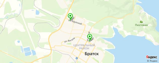 центры эстетической медицины на карте Братска