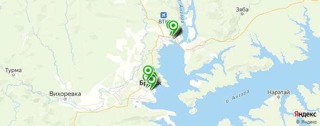 гиалуроновые инъекции на карте Братска