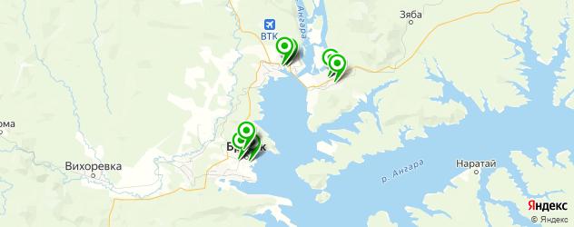 автошколы на карте Братска