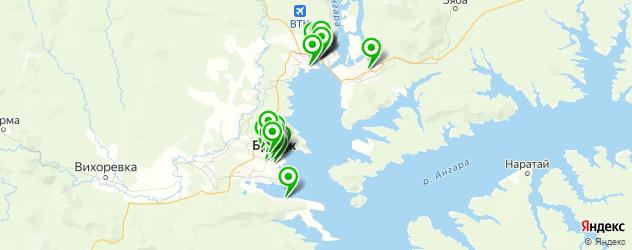 аптеки на карте Братска