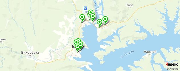 автоуслуги на карте Братска