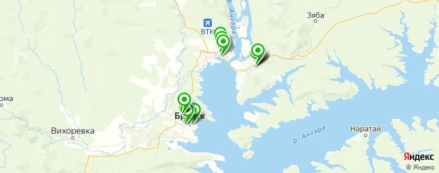 химчистки на карте Братска
