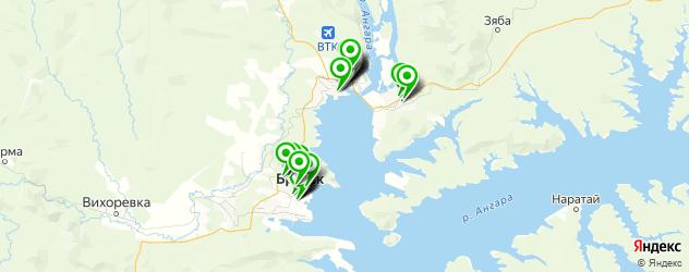сервисные центры на карте Братска