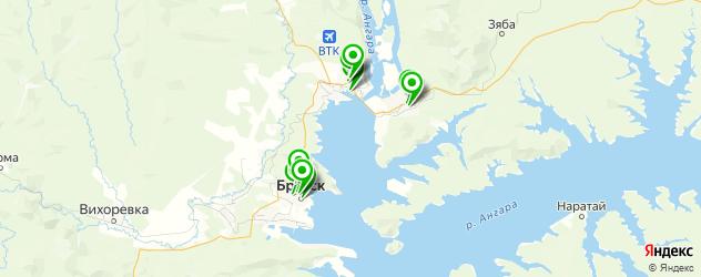изготовления ключей на карте Братска