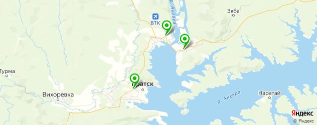 авторазборки на карте Братска