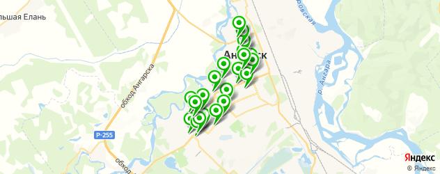 пирсинги салон на карте Ангарска