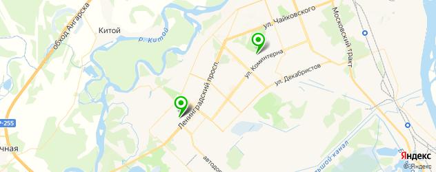 постные меню в ресторанах на карте Ангарска