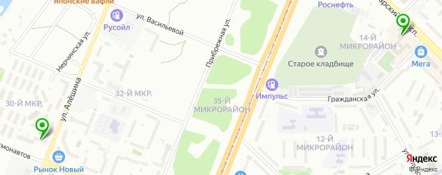 велнесы-клубы на карте Ангарска
