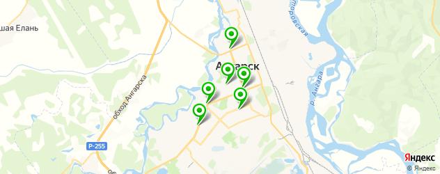 кальянные на карте Ангарска