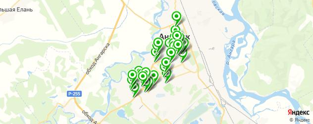 компьютерные помощи на карте Ангарска