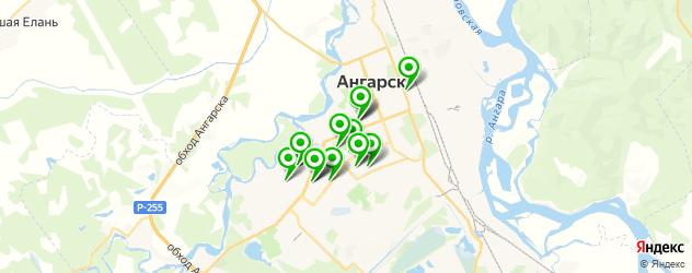 диагностические центры на карте Ангарска