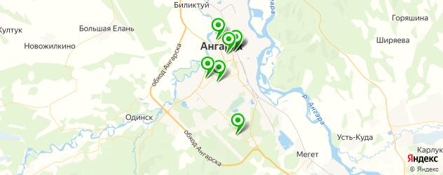 ремонт мебели на карте Ангарска