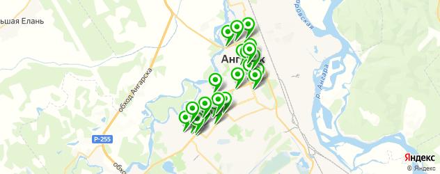банкетные залы на карте Ангарска