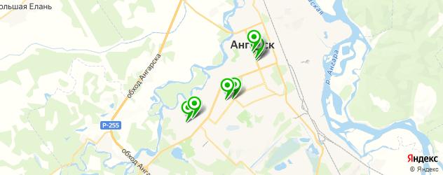 кофейни на карте Ангарска