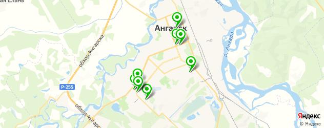 мотосалоны на карте Ангарска