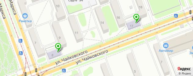 университеты на карте Ангарска