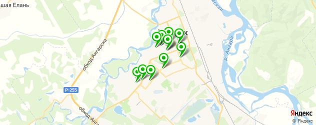 свадебные агентства на карте Ангарска