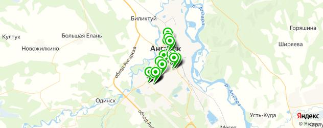 тюнинги ателье на карте Ангарска