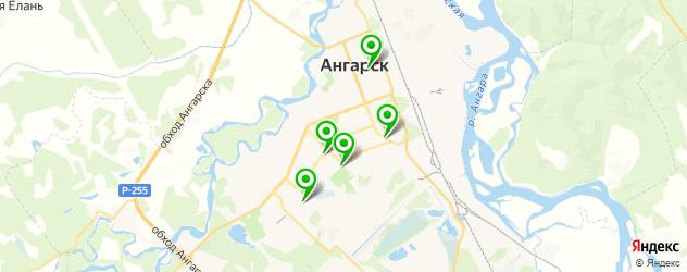 автоателье на карте Ангарска