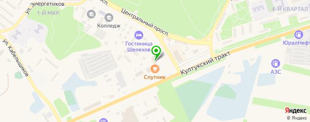 пекарни на карте Шелехова