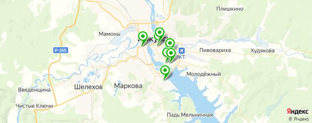 центры эстетической медицины на карте Иркутска