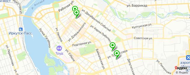 лаборатории анализов на карте улицы Карла Либкнехта
