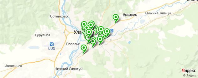 кондитерские на карте Улан-Удэ