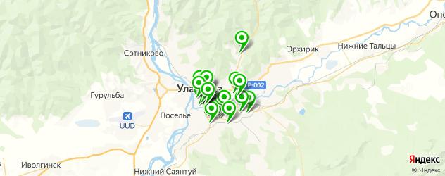 бары на карте Улан-Удэ
