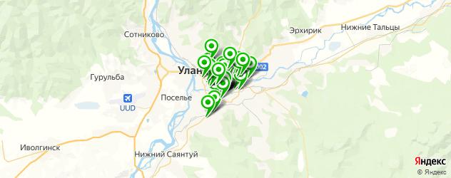мебельные мастерские на карте Улан-Удэ
